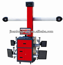 professional manufacturer for tire shop big red automobile 3d four wheel alignments with calibration tools