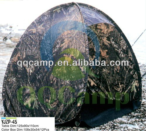 Pop up folding camouflage hunting tent of hunting blind