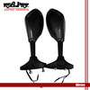Integrated Turn Signal Motorcycle carbon fiber side mirror