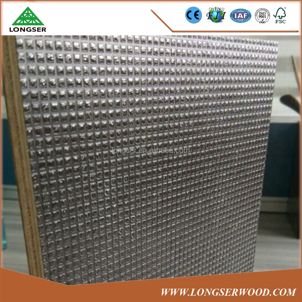 WBP glue non-slip film faced plywood / antislip plywood / anti skid film faced plywood for construction