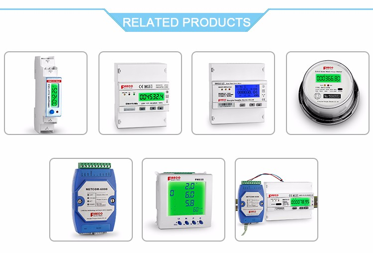 EM737 CT 3*230/400V 1.5(6)A energy digital ac voltage meter