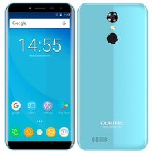 "Oukitel C8 budget Mobile Phone 5.5"" Screen Quad Core China big battery Smartphone 2GB 16GB Android 7 3G Fingerprint Phone unlock"