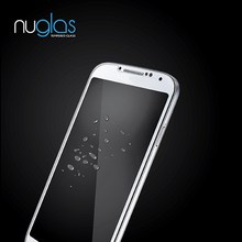 Nuglas Clear Tempered Screen Protector/Guard/Ward For Samsung Galaxy S4