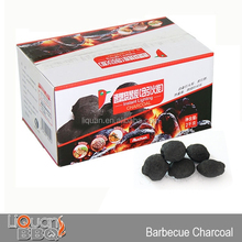 2KG Smokeless Barbecue Charcoal, BBQ Portable Charcoal, Lighting Briquettes