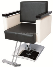 2015 Black classic Ladys barber chairs with wood armrest;Hairdressing equipment with high quality