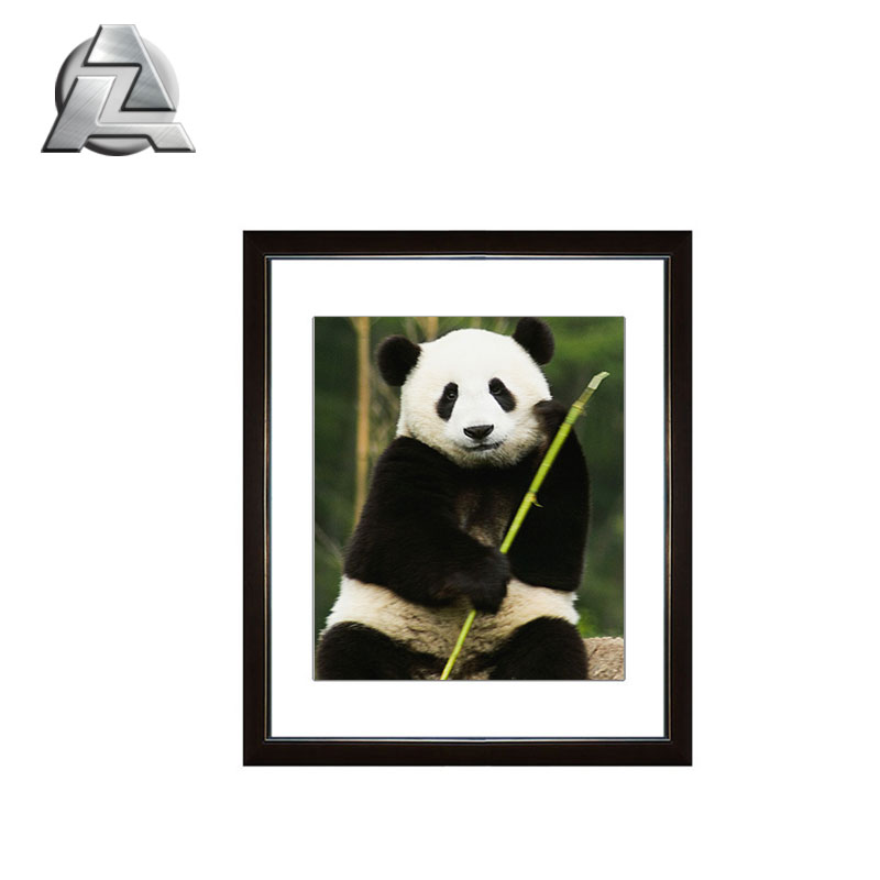 Modern Hanging Decorate Aluminum Metal A3 Photo Picture Frames With Mat 1013