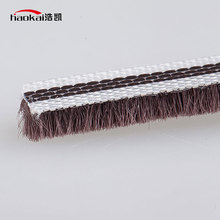 Good quality wool pile sliding door dust seal brush weatherstripping