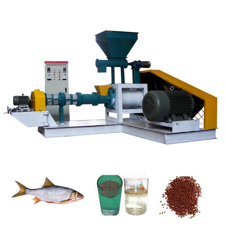30-2000KG/H Dry type floating fish feed machine for aquatic animals catfish,tilapia,Halibut, Cat