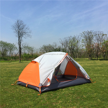 High-end Ultralight fire resistant tent,Double Layers 2 Person Waterproof Backpacking Tent, CZX-164 Ripstop Tent