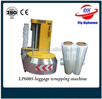 Wrapping baggage machinery