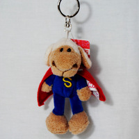 custom animal shaped plush toys keychain small super sheep keychain