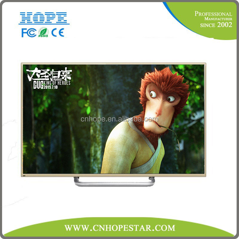 OEM Wide Screen 55 Inch 3D LED TV 1080P Full HD Android Smart TV LCD TV