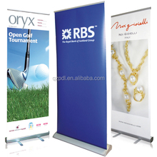 High Popular Standing Scrolling Roll Up Banner Stand/Pull Up Banner Stand
