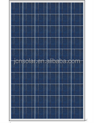 China PV manufacturer solar panel cell 250w 260w poly for home solar energy system