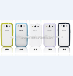 Colorful Mobile Phone Matte Case 2 in 1 TPU PC Case for Samsung Galaxy S3 I9300