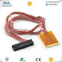lcd display cables \wiring loom in weaving Machines plastic wire loom data communication cable