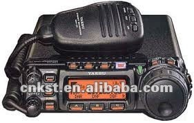 YAESU FT857D Ultra-Compact 100W Power HF Amateur Radio