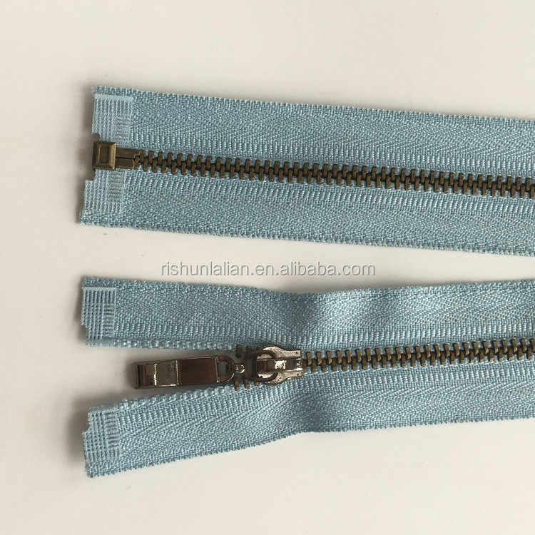 2017 Competitive Price Strong Garment Accessories 3 # 10 metal zippers