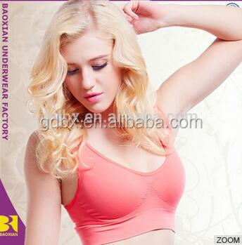 Wholesale Sports Bra And Ladies Underwear With Nylon Material women girls