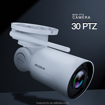 1080P PTZ 4X Optical Zoom Bullet Outdoor Waterproof WiFi ONVIF IP Camera