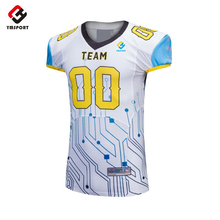 Wholesale Custom Team Rugby Jersey Generic Blank American Football Jerseys