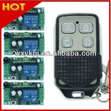 DC12V 1CH RF remote control push button switches
