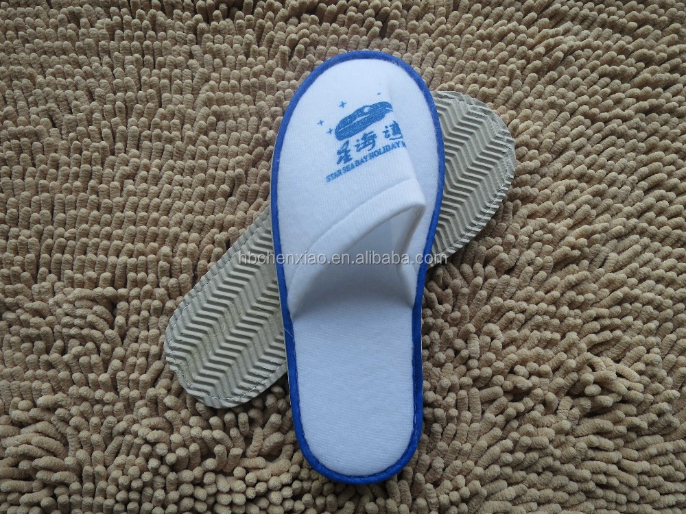 Cheap Brushed(Nap Cloth) Cotton Hotel Slippers
