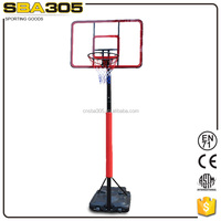 taizhou supplier high quality portable basketball goal set