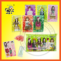 POPPING CANDY WITH FASHION GIRL DRESS DIY PUZZLE STICKER
