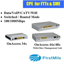 truple triple play FTTH Home Gateway with Router+VoIP+CATV+WiFi services