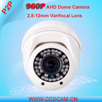 Zoom and Focus 960P Security Camera System IR Night Vision 2.8-12 Varifocal Lens 1.3MP cctv camera ahd
