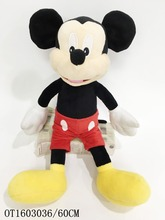 Funny mickey mouse plush toy wholesale