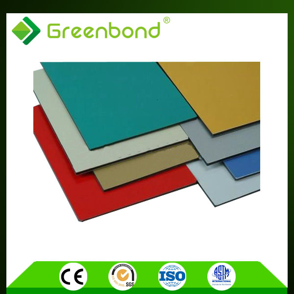 Lightweight Building Material colored acp construction material