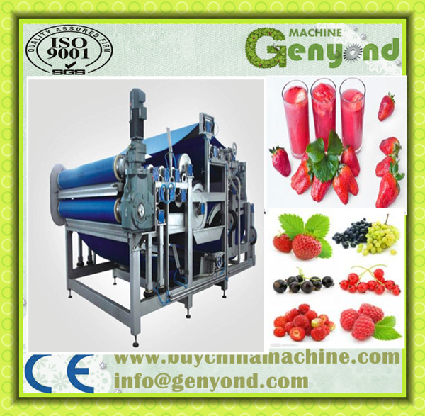 High dewatering performance coco peat squeeze dewatering machine