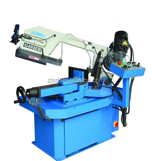 column style gantry type band saw machine angel cutting