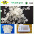 Anti-Yellowing EVA White Clear Transparent Hot Melt Adhesive Chips For EPE Foam
