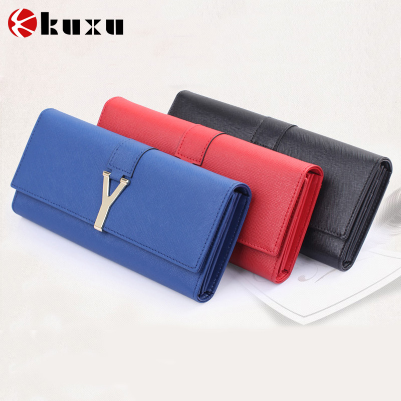 Fashion style women wallet 2016 the ladies wallet mobile phone wallet case