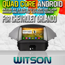 Witson S160 Android 4.4 Car DVD GPS F For CHEVROLET ORLANDO 2012 with Quad Core Rockchip 3188 1080P 16g ROM WiFi 3G