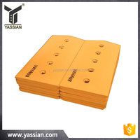 construction machinery parts heat-treated boron steel 9W6608 bulldozer cutting edge