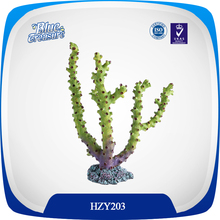 Hot selling fish tank artificial coral accessories marine