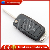 Hot sale car key shell for VW Gol 2 button Modified keyless remote key shell