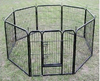 good quality folding metal pet playpen fence