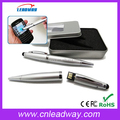 2016 hot touch pen 3 in 1 stylus pen with usb drive,100% real capacity usb ballpoint pen,engraving logo pen with usb