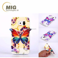 For iphone 4 & 4s Colorful 3D Blu ray Butterfly tpu for apple iphone 4 phone case