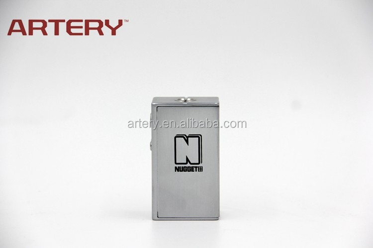 2016 best selling Ecig Box Mod 80w Nugget v2.0 box mod from Artery