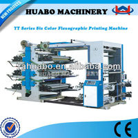 YT series 6 colors flexo printing machine