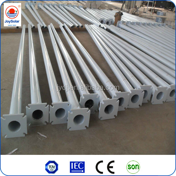 6m 8m 10m 12m street light pole / street electric pole / steel pole