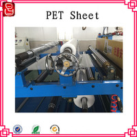 Clear rigid PET sheet for food packing