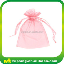 Small sheer organza packaging pouch for bracelet