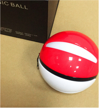 Pokemon go ball mobile power supply 10000mAh charge the cartoon pokemon pocket monsters
